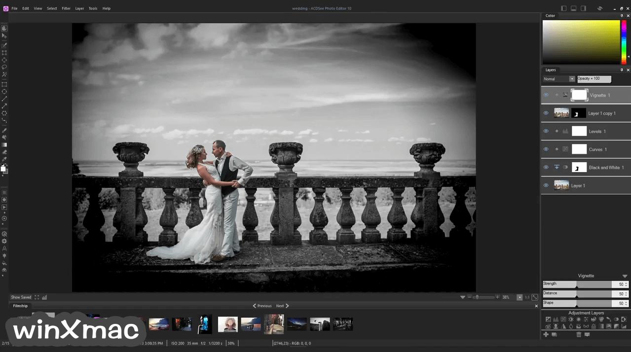 ACDSee Photo Editor Screenshot 2