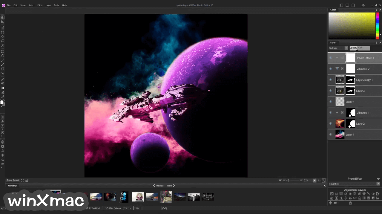 ACDSee Photo Editor Screenshot 3