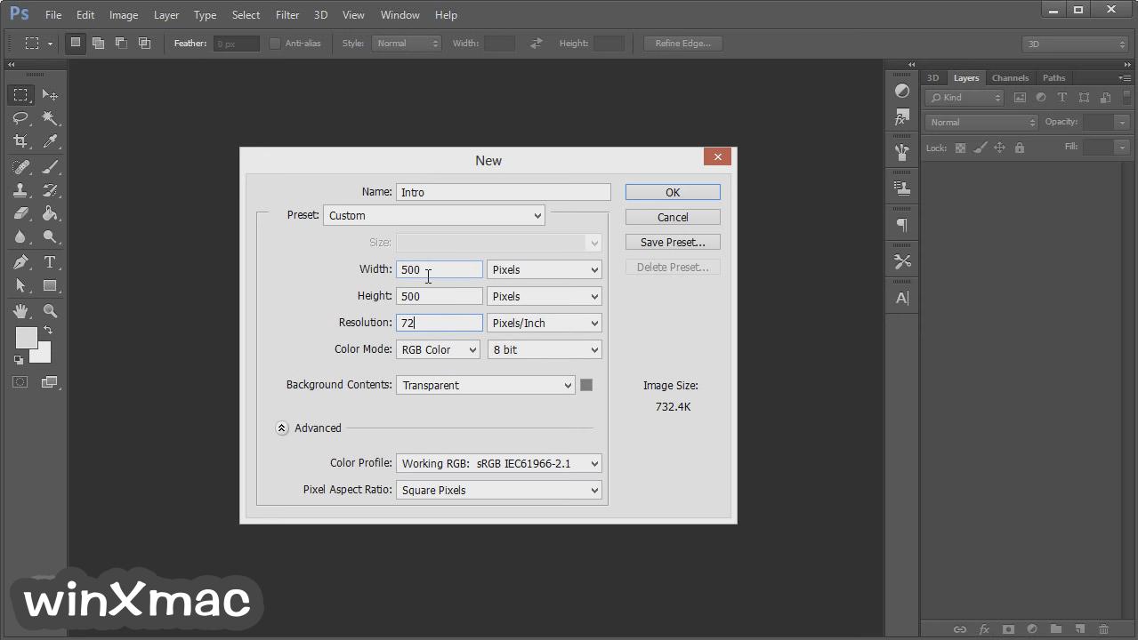 Adobe Photoshop (64-bit) Screenshot 1