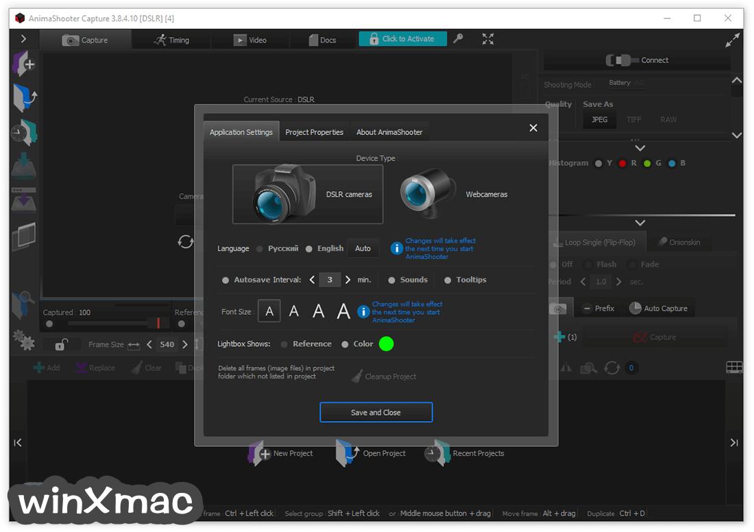 AnimaShooter Capture Screenshot 2