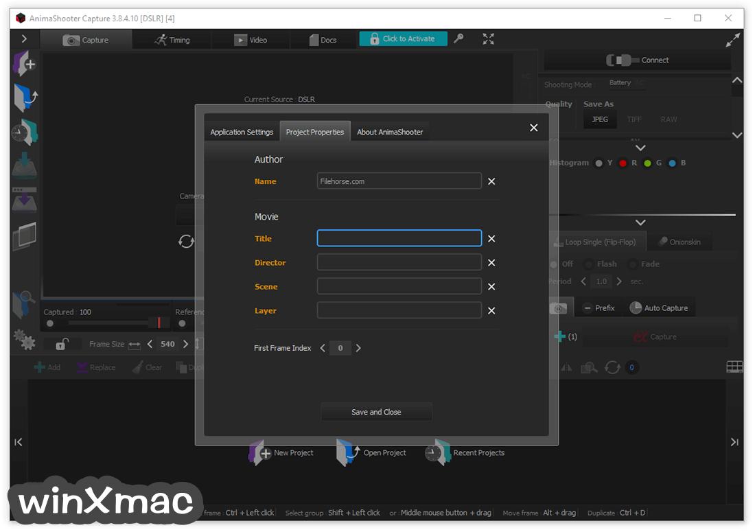 AnimaShooter Capture Screenshot 3