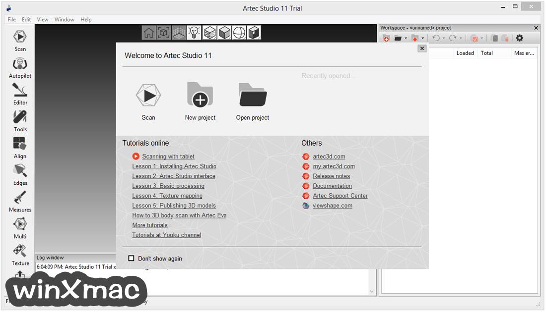 Artec Studio Screenshot 1