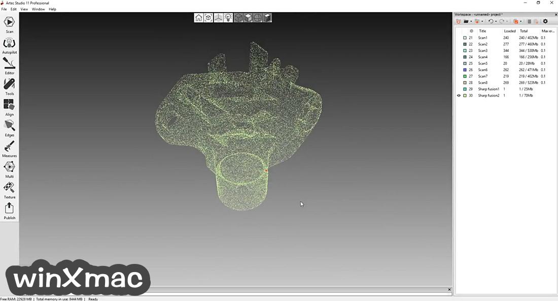 Artec Studio Screenshot 2