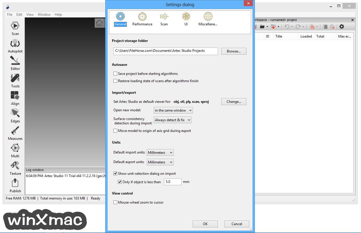 Artec Studio Screenshot 5