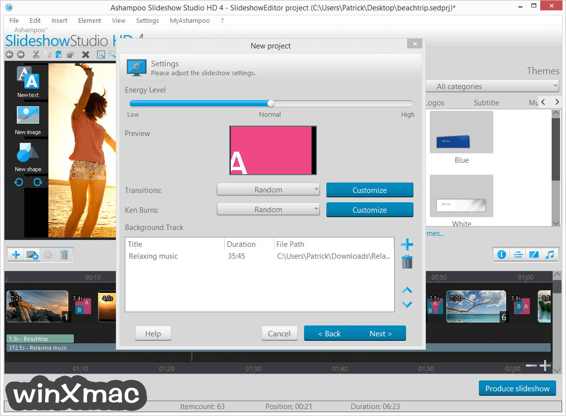 Ashampoo Slideshow Studio HD Screenshot 3