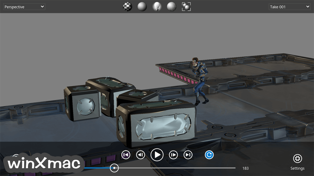Autodesk FBX Review Screenshot 3