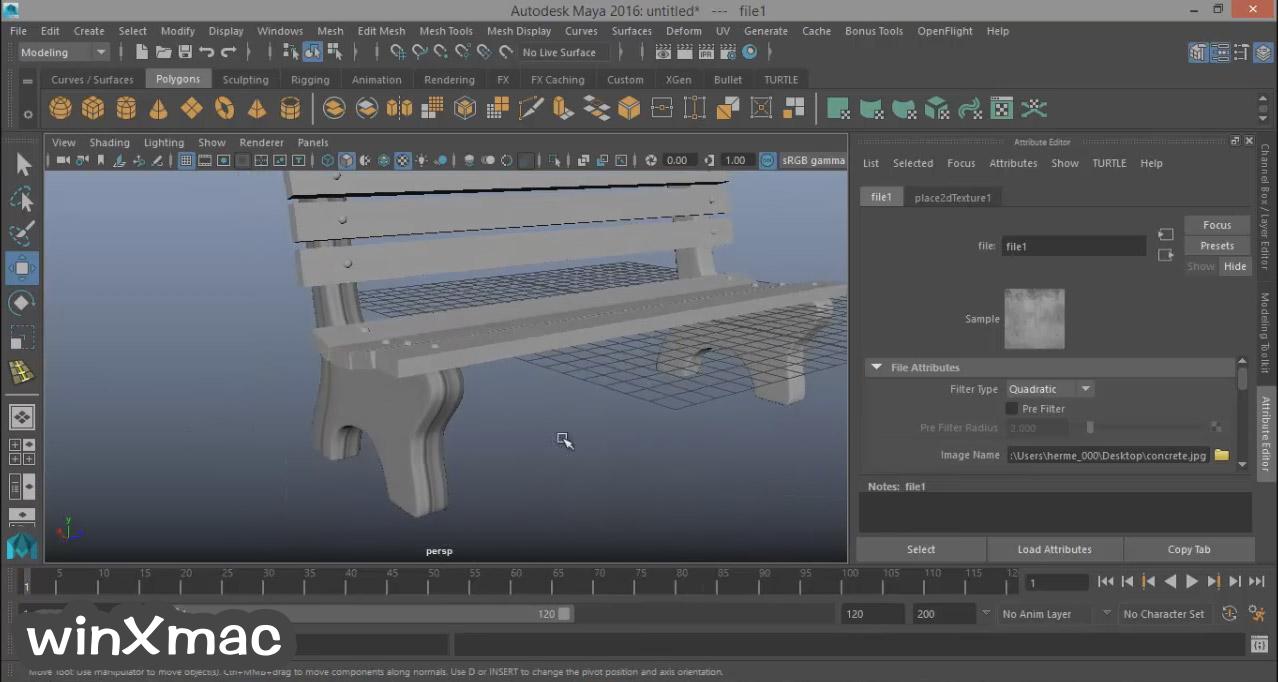 Autodesk Maya Screenshot 3