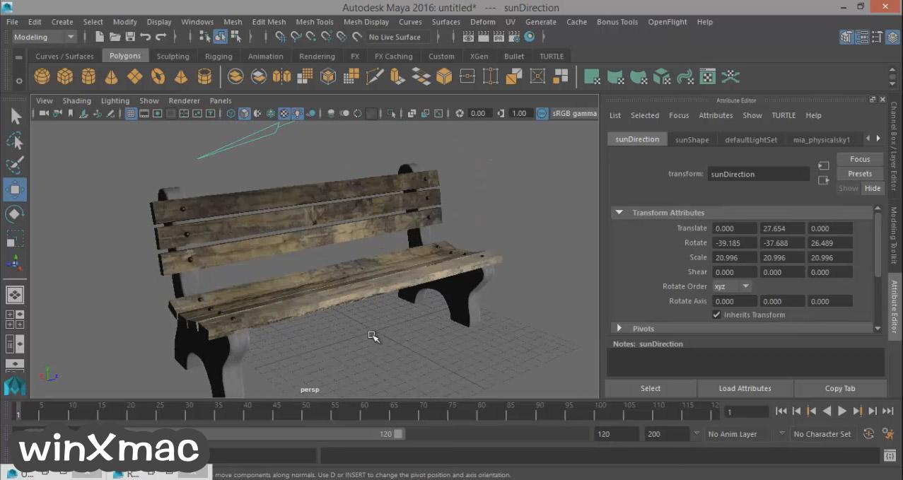 Autodesk Maya Screenshot 5