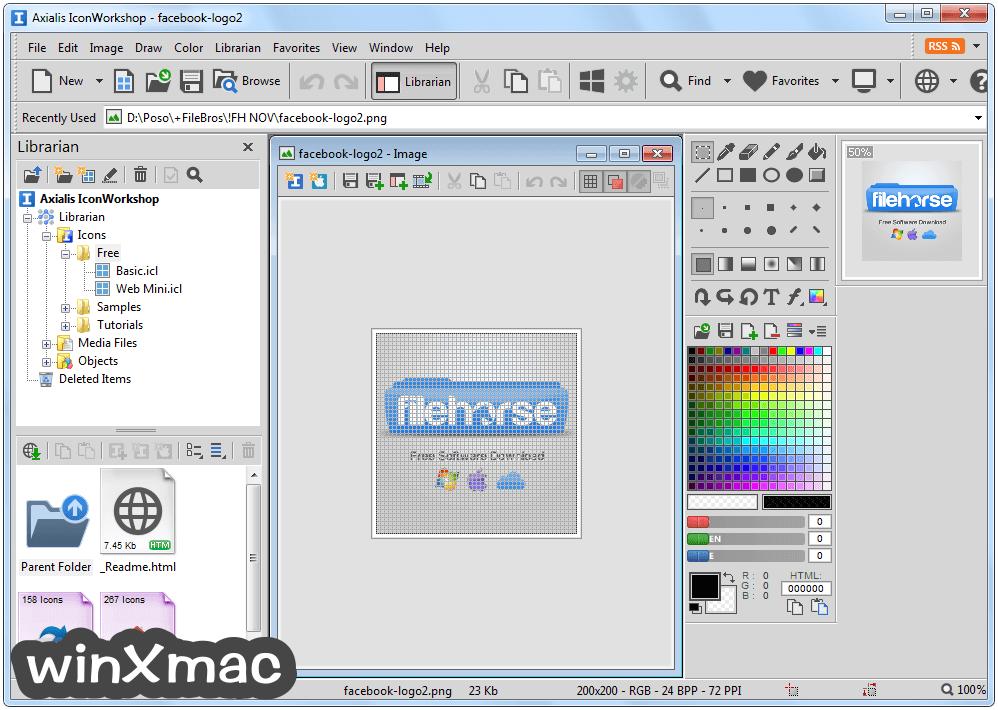 Axialis IconWorkshop Screenshot 1