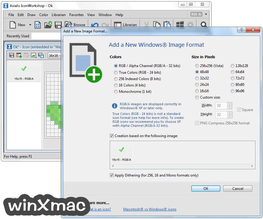 Axialis IconWorkshop Screenshot 2