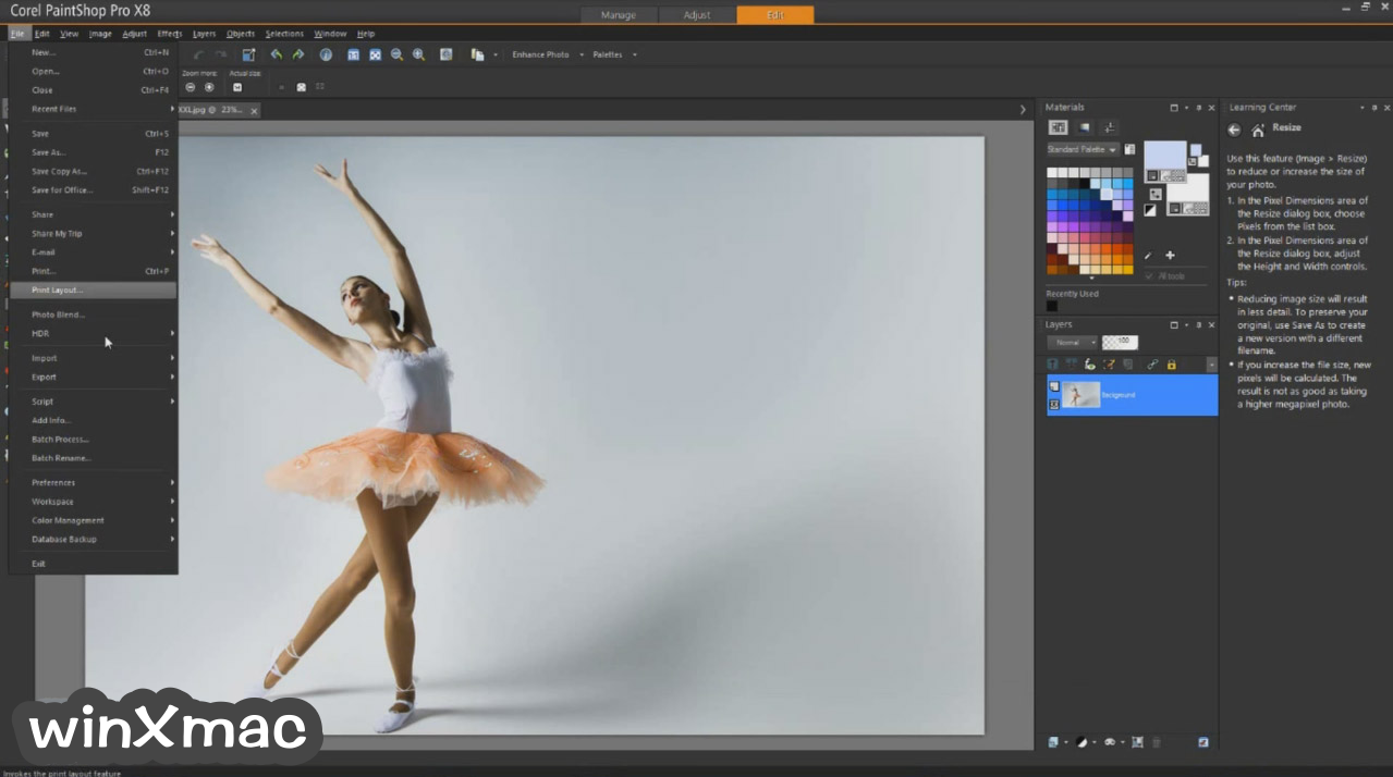 Corel PaintShop Pro Screenshot 3