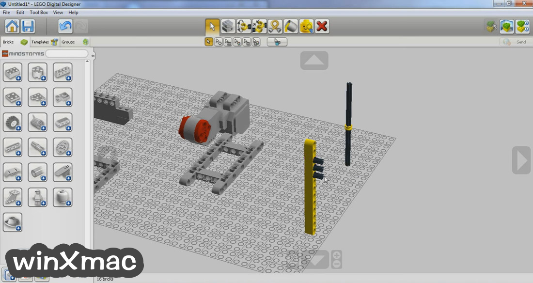 LEGO Digital Designer Screenshot 1