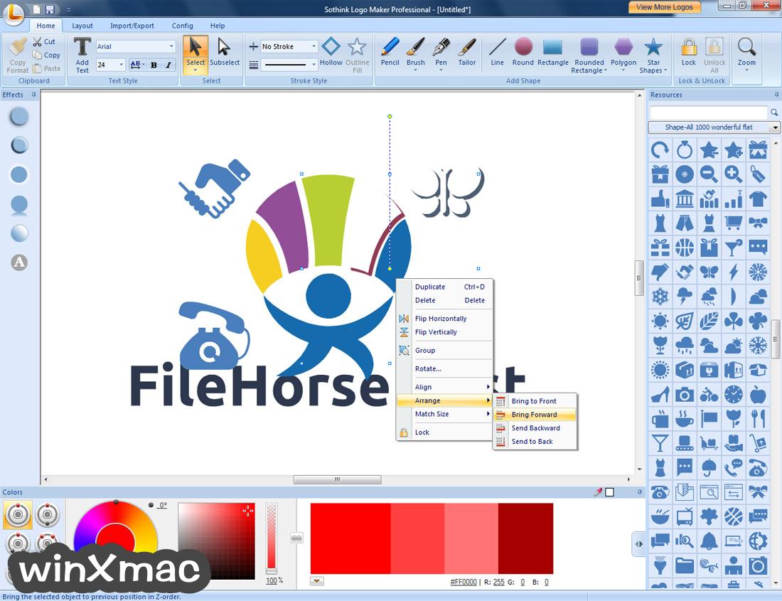 Sothink Logo Maker Professional Screenshot 5