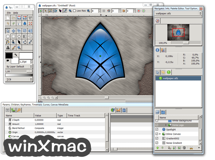 Synfig Studio (32-bit) Screenshot 1