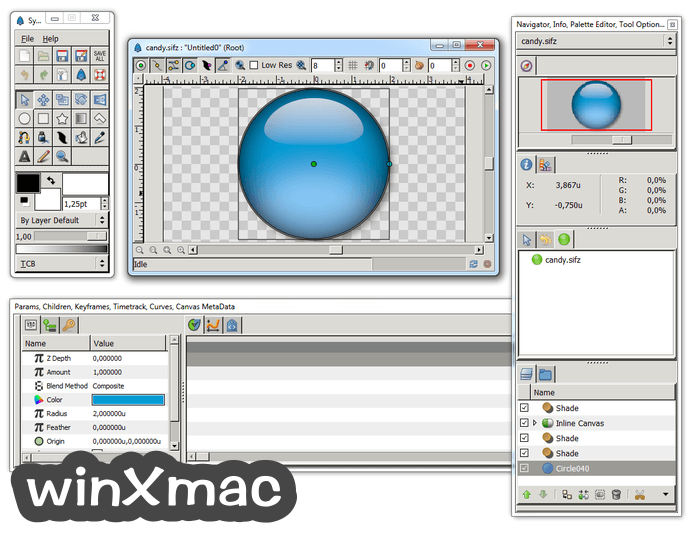 Synfig Studio (32-bit) Screenshot 2