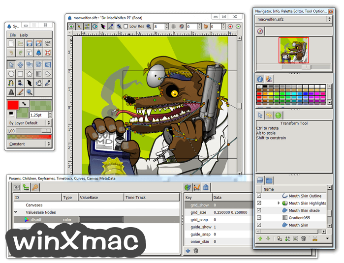 Synfig Studio (32-bit) Screenshot 3