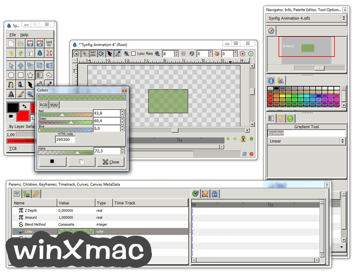 Synfig Studio (32-bit) Screenshot 4