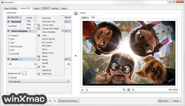 XnConvert (32-bit) Screenshot 1