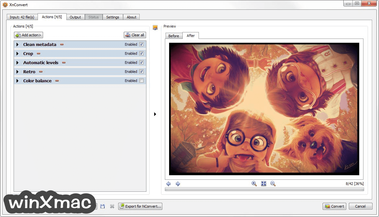 XnConvert (32-bit) Screenshot 2
