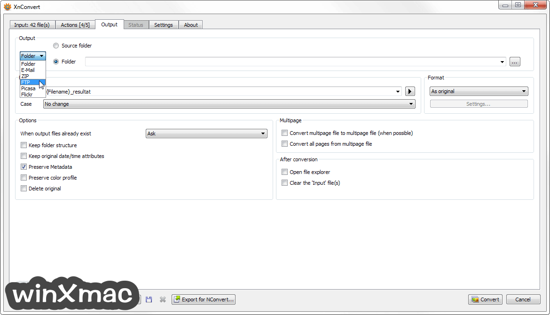XnConvert (32-bit) Screenshot 3