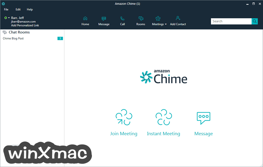 Amazon Chime Screenshot 1