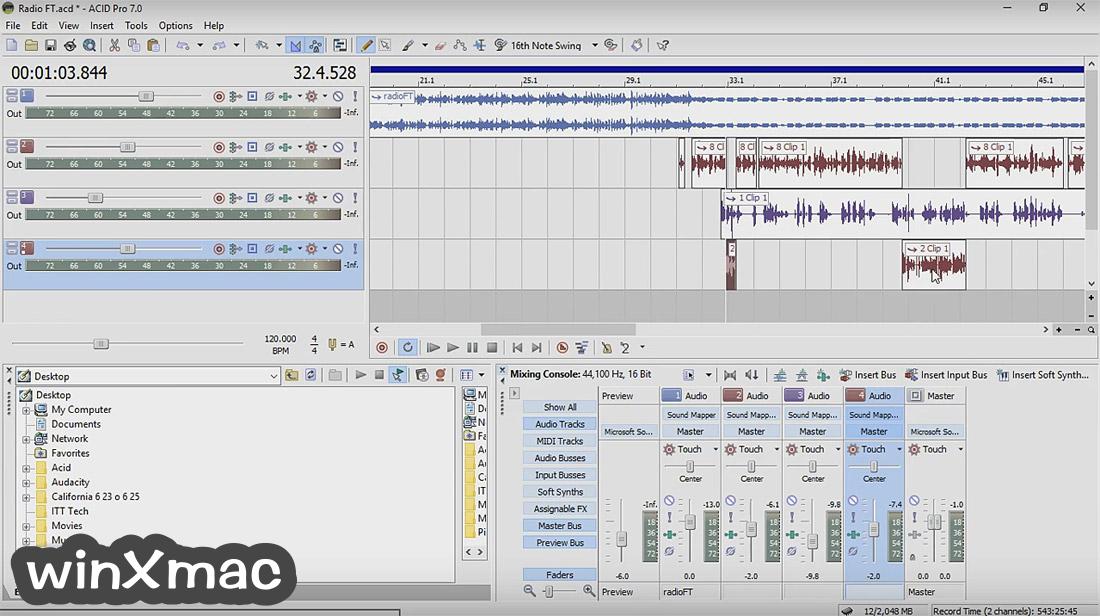 ACID Pro Screenshot 1