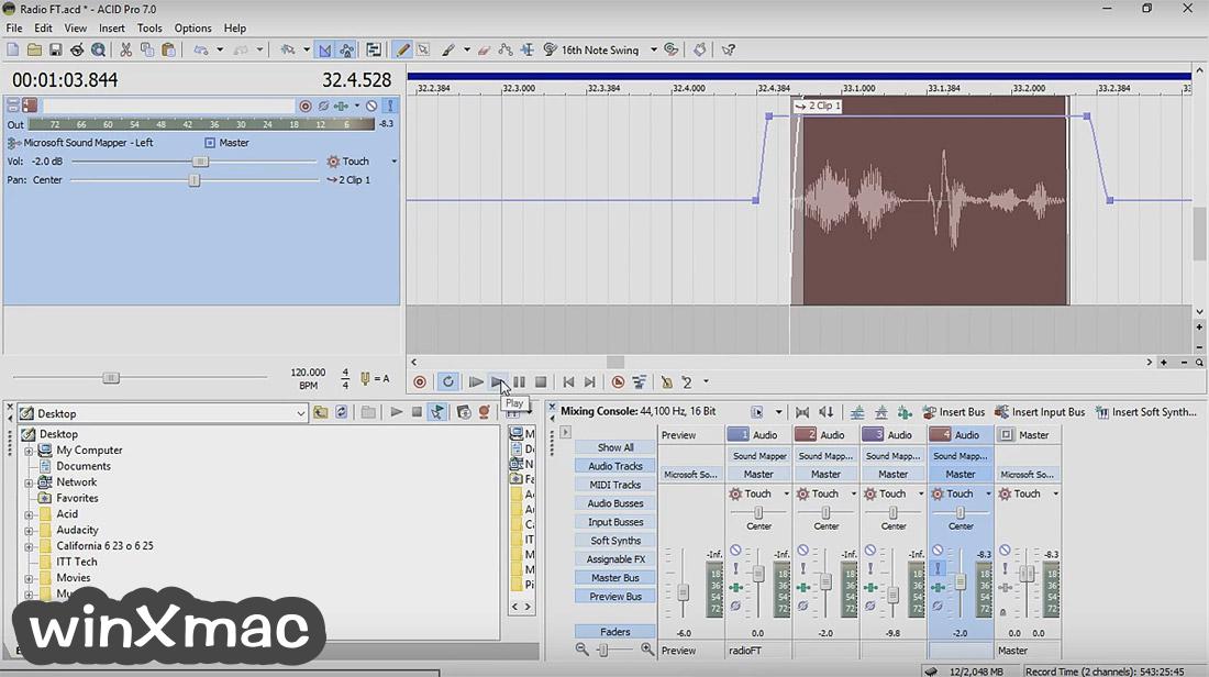 ACID Pro Screenshot 2