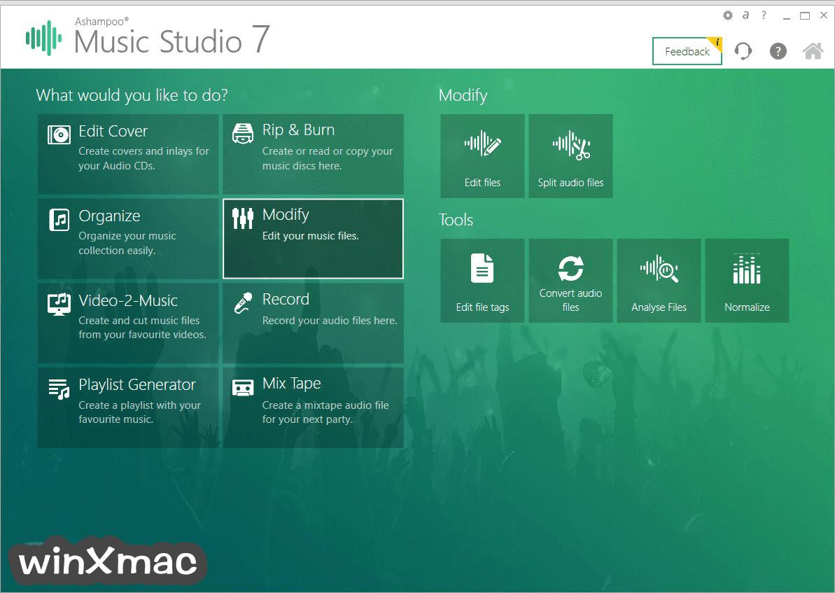 Ashampoo Music Studio Screenshot 1