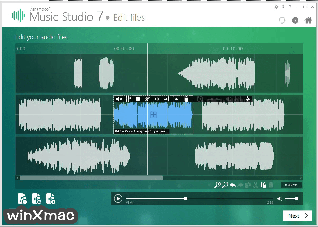 Ashampoo Music Studio Screenshot 3