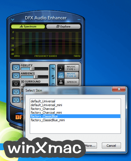 DFX Audio Enhancer Screenshot 3