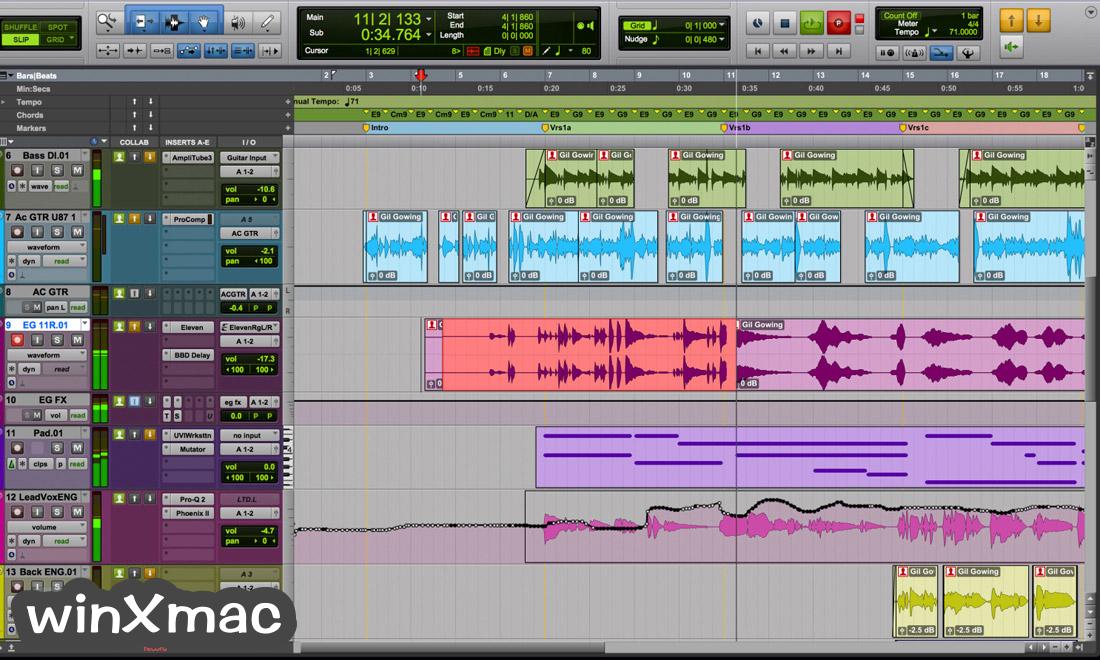 Pro Tools Screenshot 1