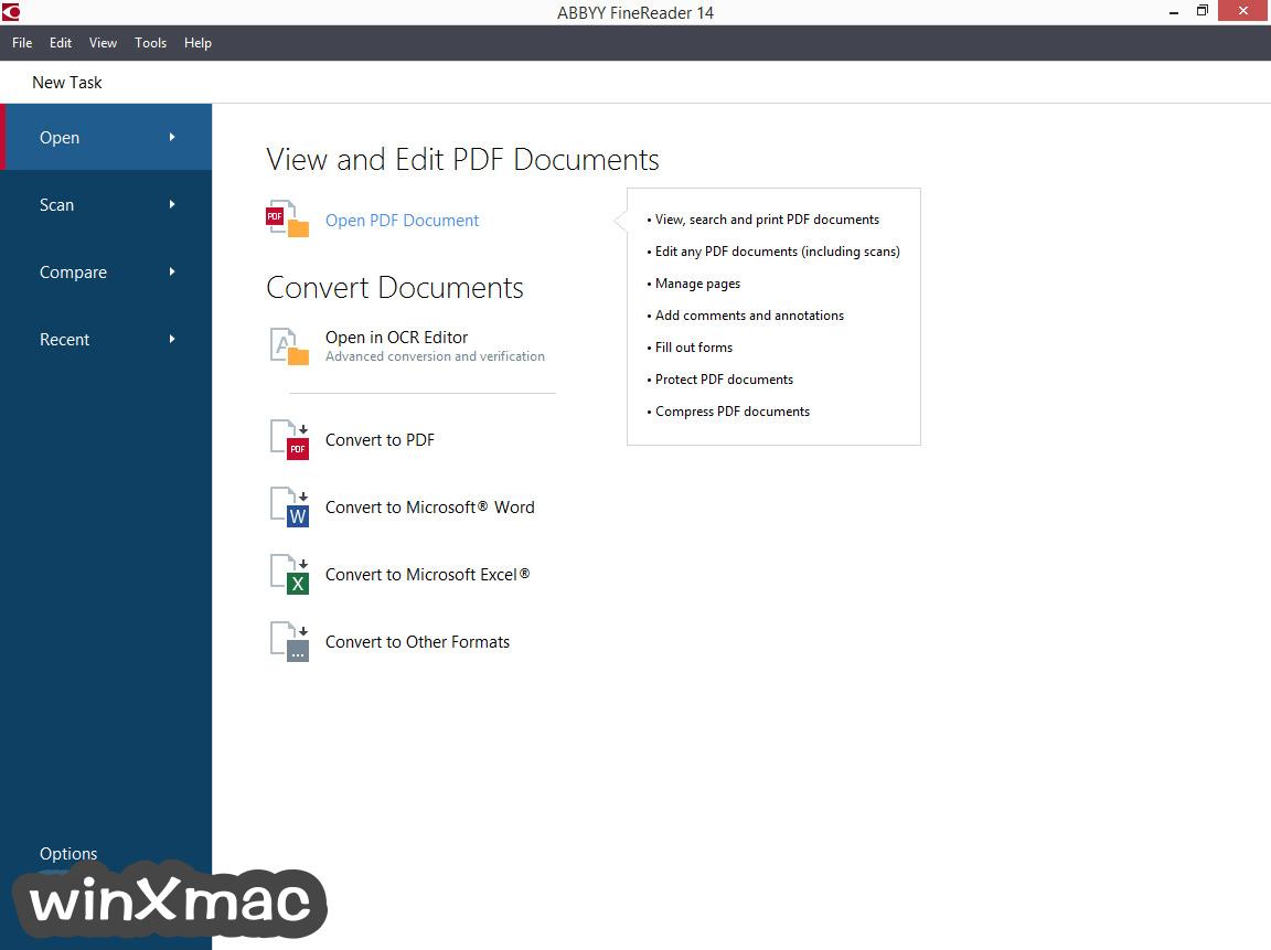 ABBYY FineReader Corporate Screenshot 1