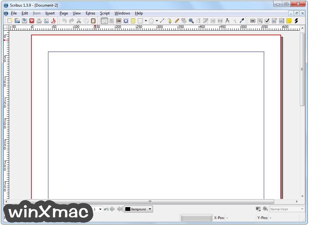Scribus (64-bit) Screenshot 1