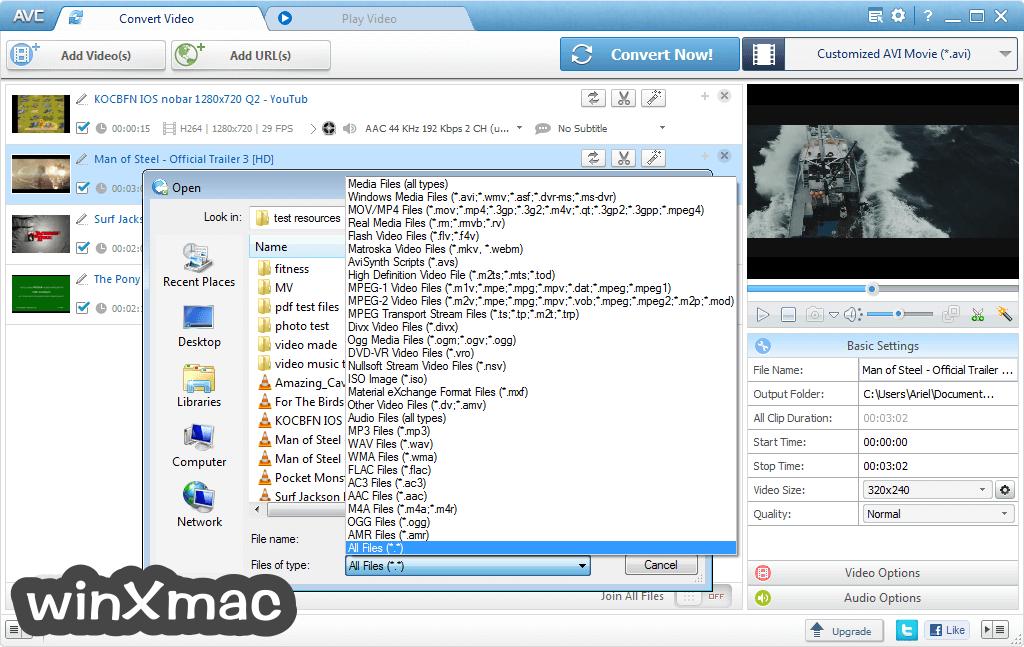 Any Video Converter Free Screenshot 2