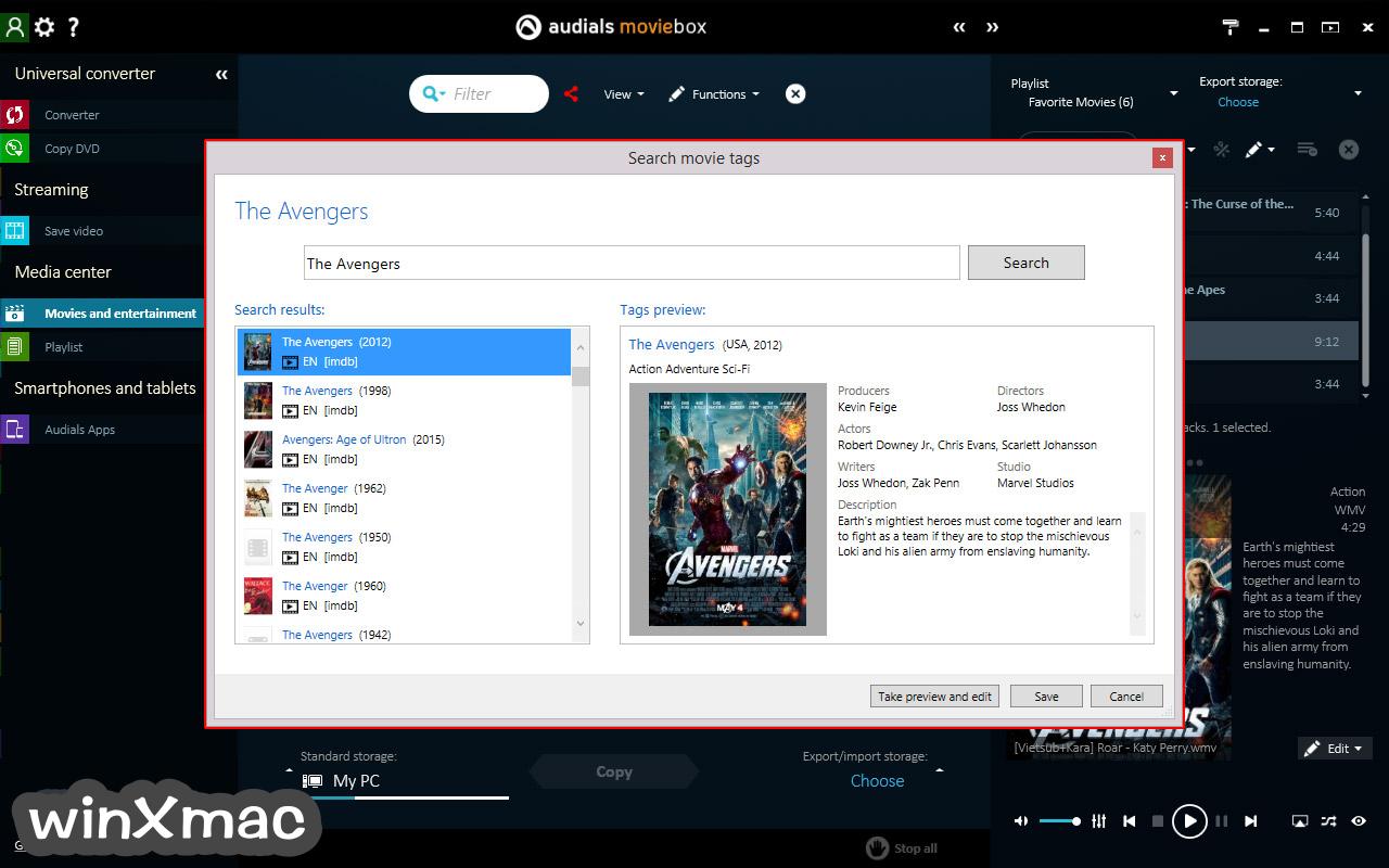 Audials Moviebox Screenshot 3
