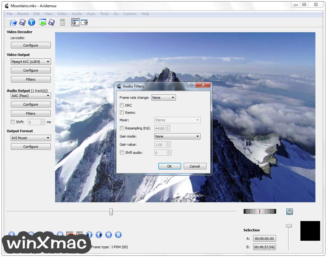 Avidemux (32-bit) Screenshot 4