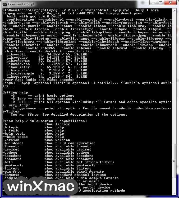 FFmpeg (64-bit) Screenshot 1