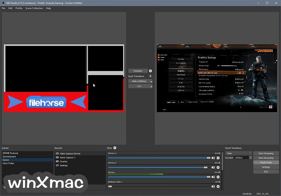 OBS Studio Screenshot 2