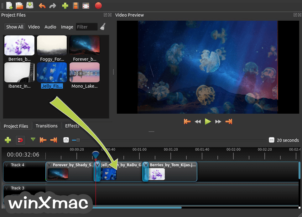 OpenShot Video Editor Screenshot 5