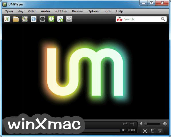 UMPlayer Screenshot 1