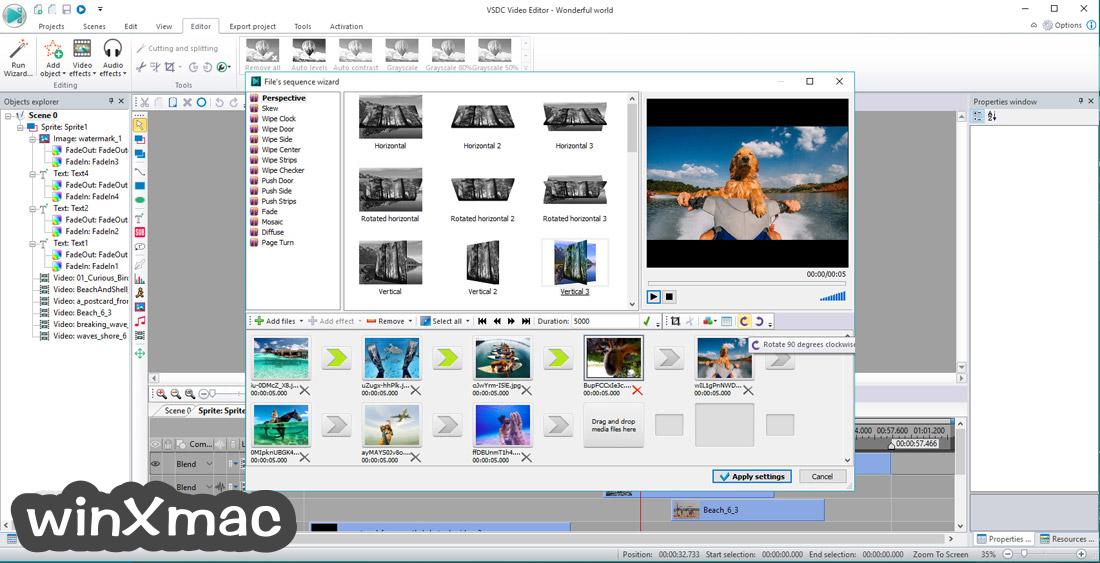 VSDC Free Video Editor (32-bit) Screenshot 4